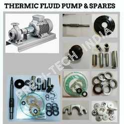 Preci-tech India Stainless Steel Thermic Fluid Pump & Spares