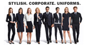 Plain Corporate Uniform Fabric