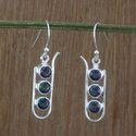 Mystic Gemstone 925 Sterling Silver Earring Jewelry