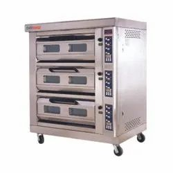 Three Deck Oven Digital With Steam