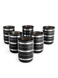 Stainless Steel Black Colored Glasses
