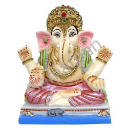 Clay Ganesha 12D