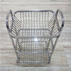 Stainless Steel Fruit and Vegetable Trolley