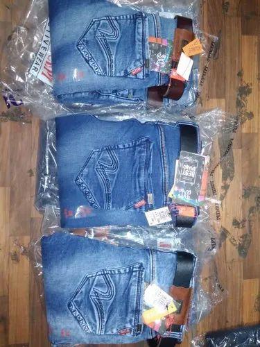 Jeans 3 Concept Comfort Free Plain Mens Slim Denim Pant Fit OPZiuXkT
