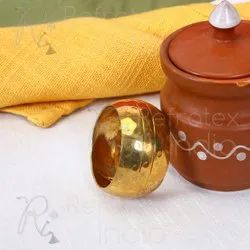 Golden Metal Napkin Ring