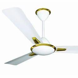 Gaintech White Senora Ceiling Fan, 380 Rpm, Warranty: 2 Year