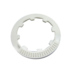 White Plastic Seal Injection Molding Part