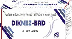 Trypsine Bromelain Rutoside Diclofenac Tab