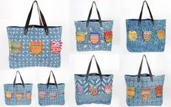 Embroidery Dari Print Bag