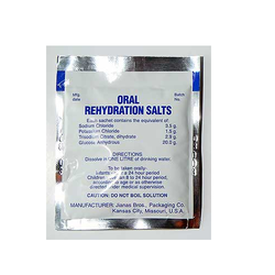 Oral Rehydration Salt Pouches