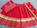 Majestic Red Bridal Lehenga Choli