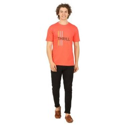 Cotton Printed Mens Casual T Shirts