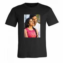 Cotton Casual Wear Men's Photo Printed T-Shirt