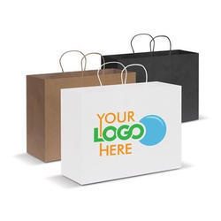 Printed Eco Friendly Paper Carry Bag