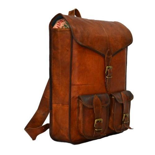Leather Backpack Bag at Rs 1200  piece  a1280fef3d818