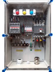 Solar ACDB 45-60 KW With No Volt Relay, AC SPD, RYB Indicator, 50 KW