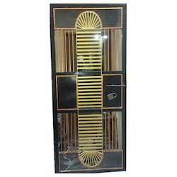 MS Safety Door Fabrication Service
