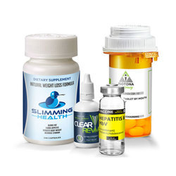 Pharmaceutical Bottle Labels