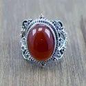 925 Sterling Silver Malachite Gemstone Handmade Ring Jewelry