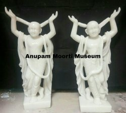Nitai Gaura Marble Statues