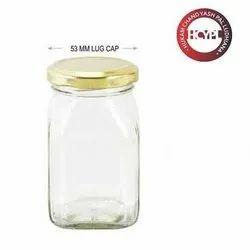 250 gm Honey Glass Jar