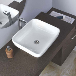 White Ceremic Bathroom Wash Basin
