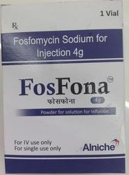 Fosfona Fosfomycin Sodium For Injection
