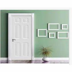 Coated White PVC Decorative Door, For Home, Interior,Exterior
