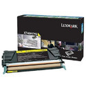 Lexmark LEXX748H1YG Toner Cartridge Yellow Laser, 10000 Page
