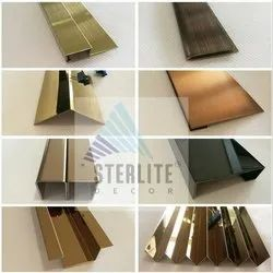 SS304 Stainless Steel Decorative Profiles