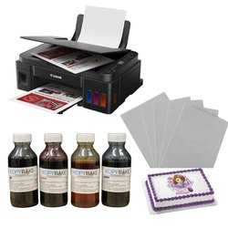 Canon Pixma G 3010 Photo Cake Printer Kit ( With Scanner And Wireless)