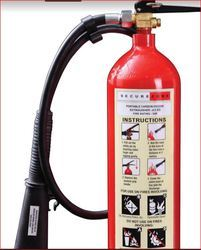 Secure Zone CO2 Based Fire Extinguisher