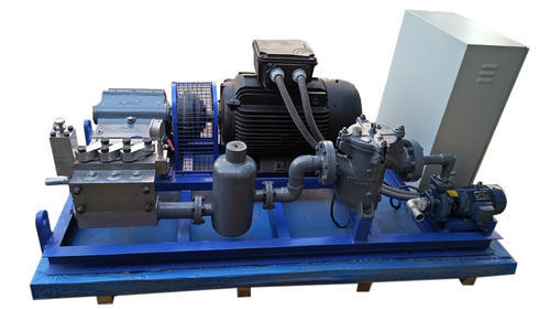 High Pressure Triplex Water Pump, High Pressure Plunger Pump ...