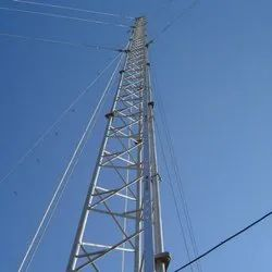 Guyed Mast Tower