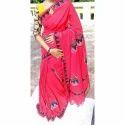 Cotton Printed Ladies Saree, Length: 6.5 M