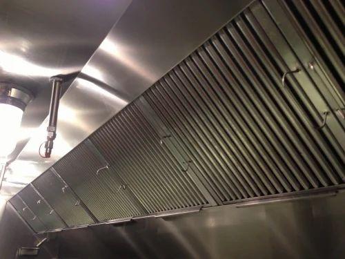 Stainless Steel AR Mechanics Kitchen Exhaust System