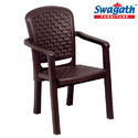 Weave Dark Brown Chair