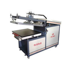 Clam Shell Flat Screen Printing Machine Deluxe