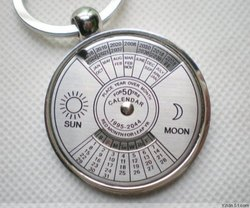 Sociosis Productions Calendar Keychain, Size: 50mmx50mm