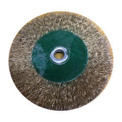 Brass Coated Wire Brush
