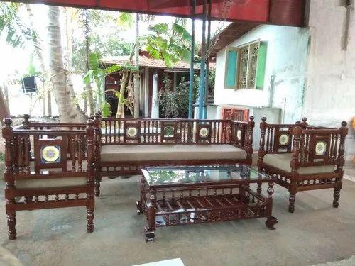 Antique Chettinad Living Room Sofa