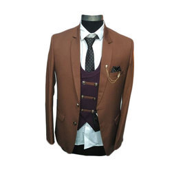 Mens Festive Wear Five Piece Suit