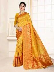 Pr Fashion Launched Beautiful Designer Silk Based Saree