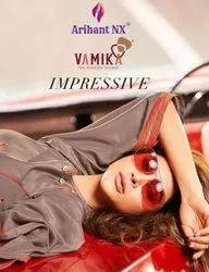 Arihant Nx Impressive Pure Maslin Silk Kurtis Catalog