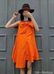 Western Wear Ladies Short Dress