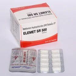 Metformin Hydrochloride SR Tablets