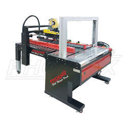 Automatic Carton Sealer & Strapping Machine