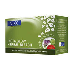 VLCC Insta Glow Bleach, for Parlour, Packaging Type: Box