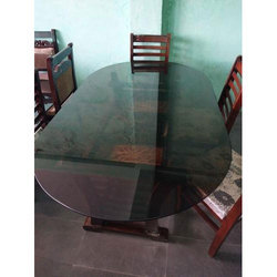 Brown Home Needs Furniture Glass Dining Table
