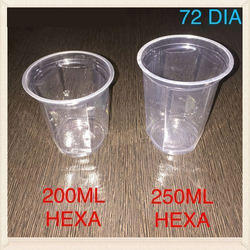 Hexa Disposable Glass